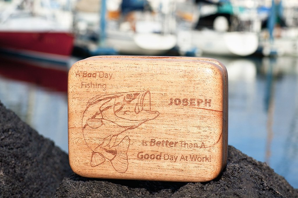 customized gift for fishing fan