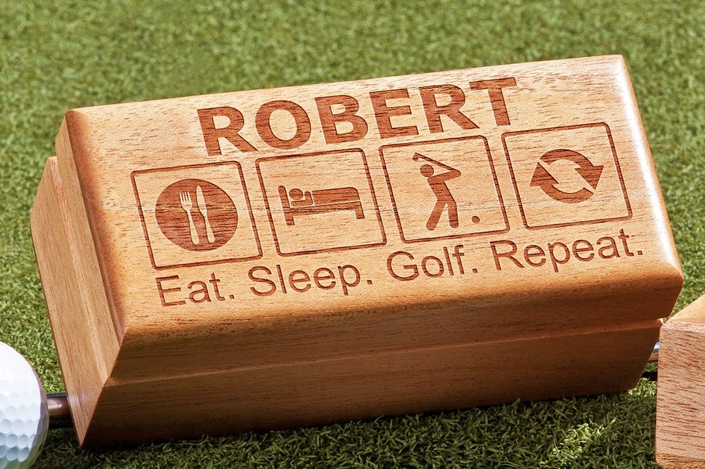 personalized Gift Box for Golf Player