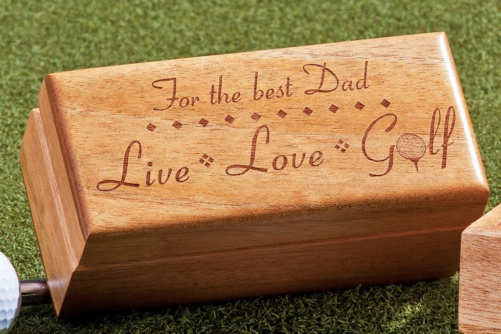 Personalized Golf Ball Gift Box for Fathers Day/Birthday...