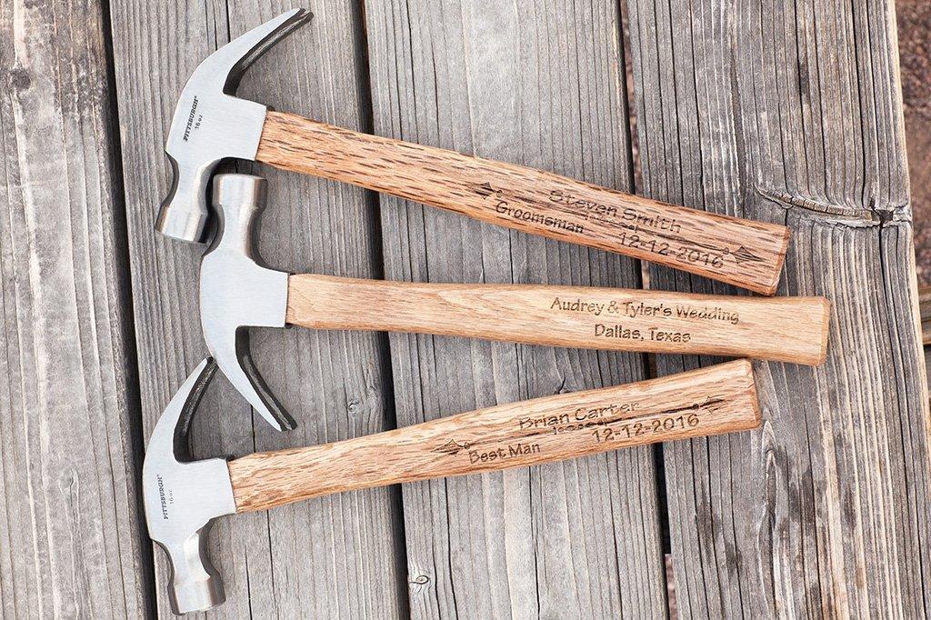 personalized hammer design option 1