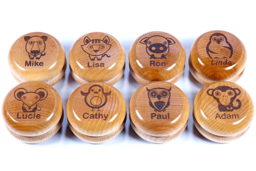Personalized Maple Wood YoYo