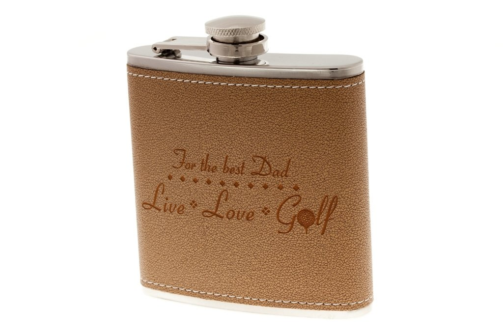 Personalized Golf Flask Gift
