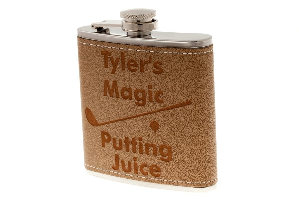 Personalized Golf Flask Magic Putting Juice