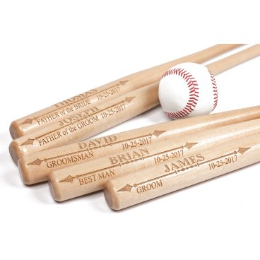 Personalized Mini Baseball Bat, Customized Junior Baseball Bat
