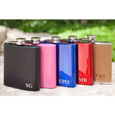 Hip Flask with your Initials