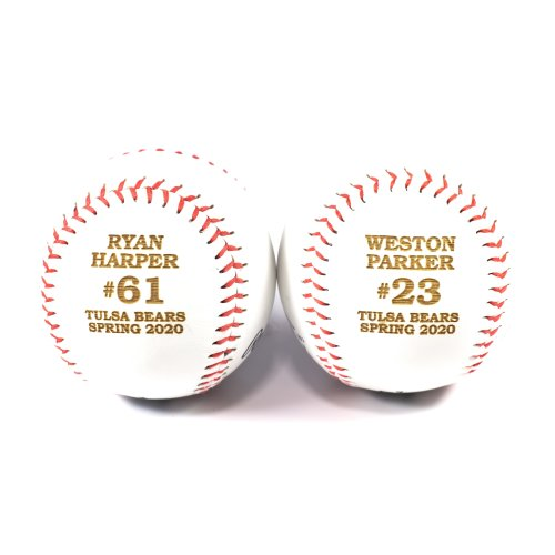 engraved baseballs