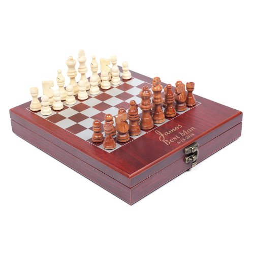 customized chess board Groomsmen Gift