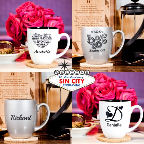 Personalized 16oz Coffee Mug
