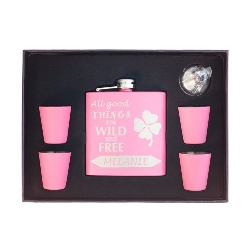 """Flask for Her """"All Good Things are Wild and Free"""""""