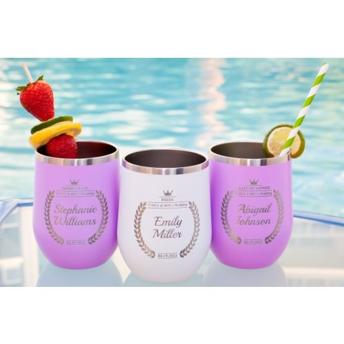 Engraved Bachelorette Cups