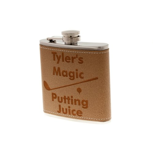 Personalized Golf Flask Magic Putting Juice