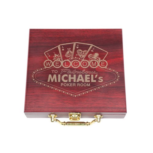 personalized gift for poker player